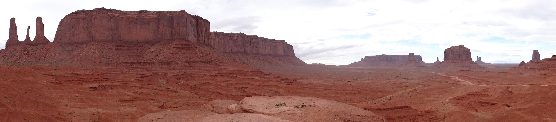 American Desert Highway / Road To Monuments Valley, Arizona ...